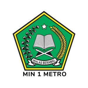Logo MIN 1 Metro - Jaringan IDN