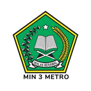Logo MIN 3 Metro - Jaringan IDN